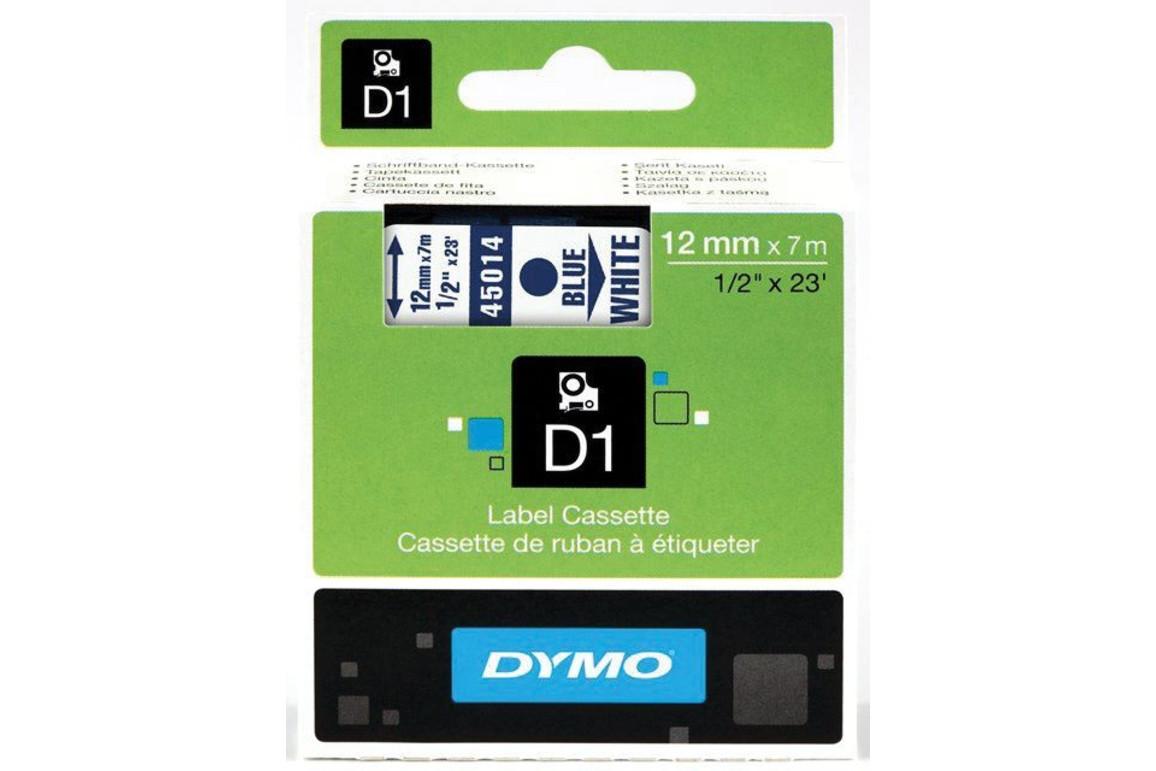 Beschriftungsband Dymo 12mmx7m schwarz farblos, Art.-Nr. 00450-SWTR - Paterno Shop