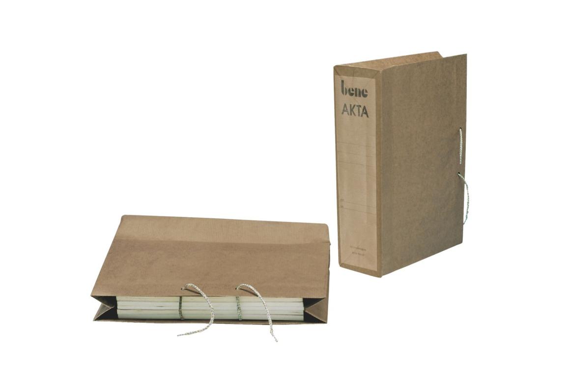 Schutzhüllen Akta Bene A4 hellbraun, Art.-Nr. 096600 - Paterno Shop