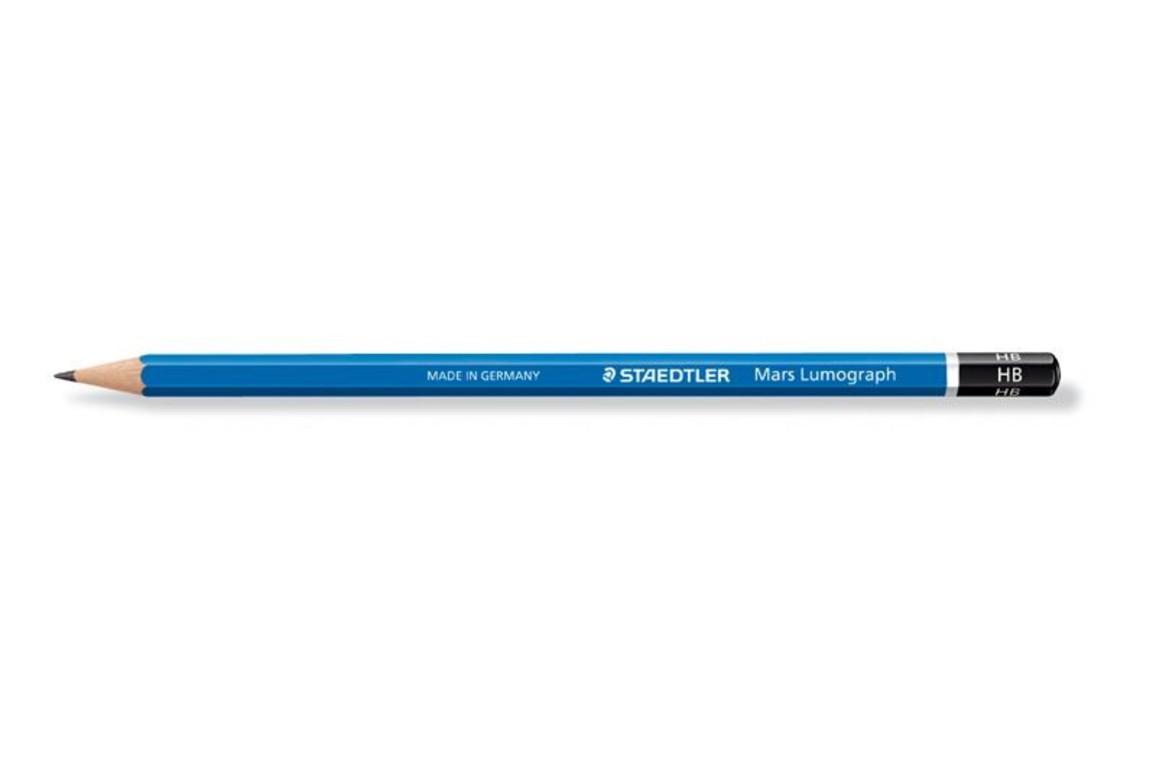 Bleistift Mars Lumograph 100 8B, Art.-Nr. 100-8B - Paterno Shop