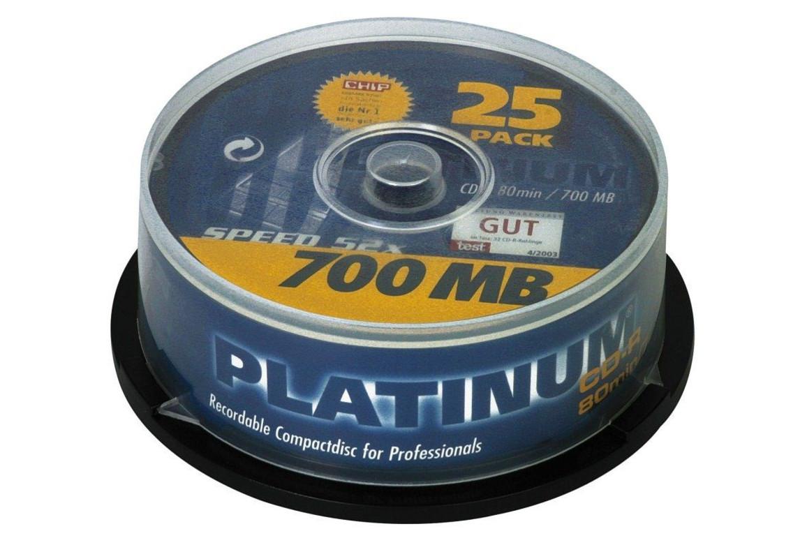CD-R 700 MB,52-fach 25er-Spindel Intenso, Art.-Nr. 100119 - Paterno Shop