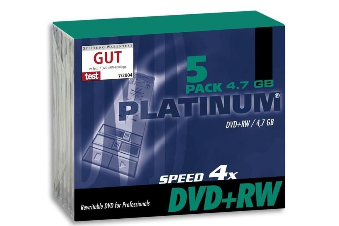 DVD+RW 4,7 GB 4-fach Slim Case Intenso, Art.-Nr. 100161 - Paterno Shop