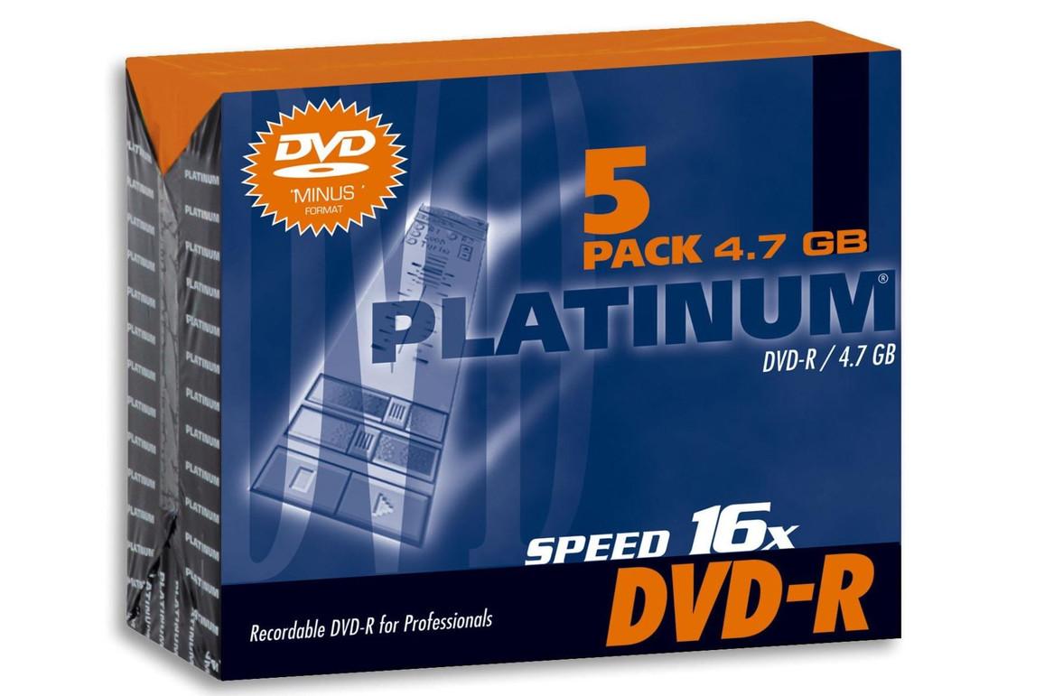 DVD-R 4,7 GB 16-fach Slim Case, Art.-Nr. 100301 - Paterno Shop