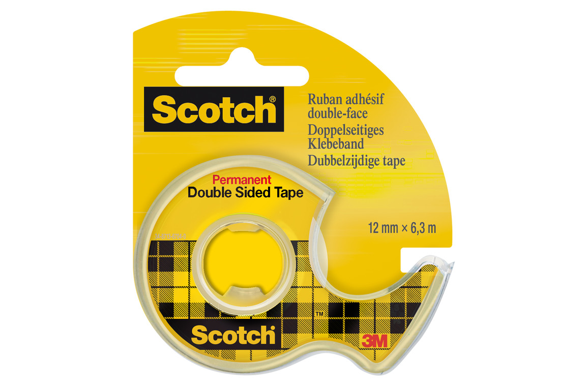 Klebeband Scotch Douplo 12mm x 6,3lfm, Art.-Nr. 11272 - Paterno Shop