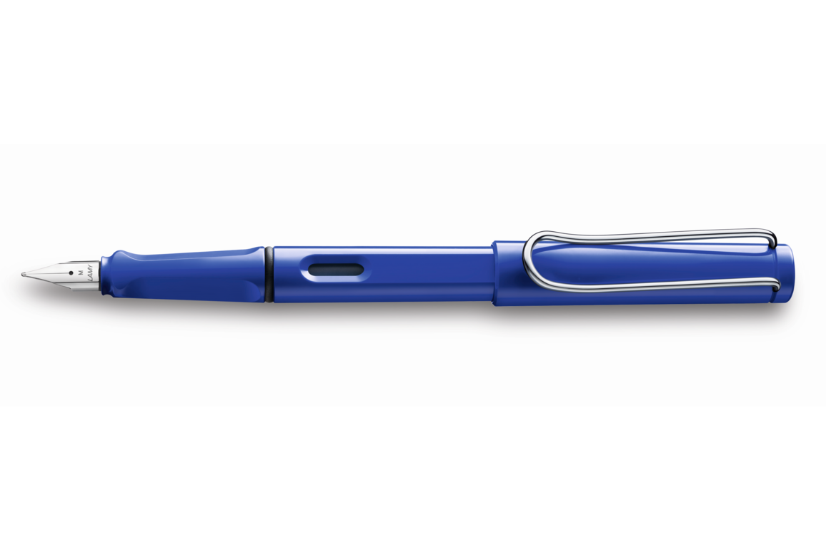 Füllhalter Lamy SAFARI 014 M blau, Art.-Nr. 1210491 - Paterno Shop