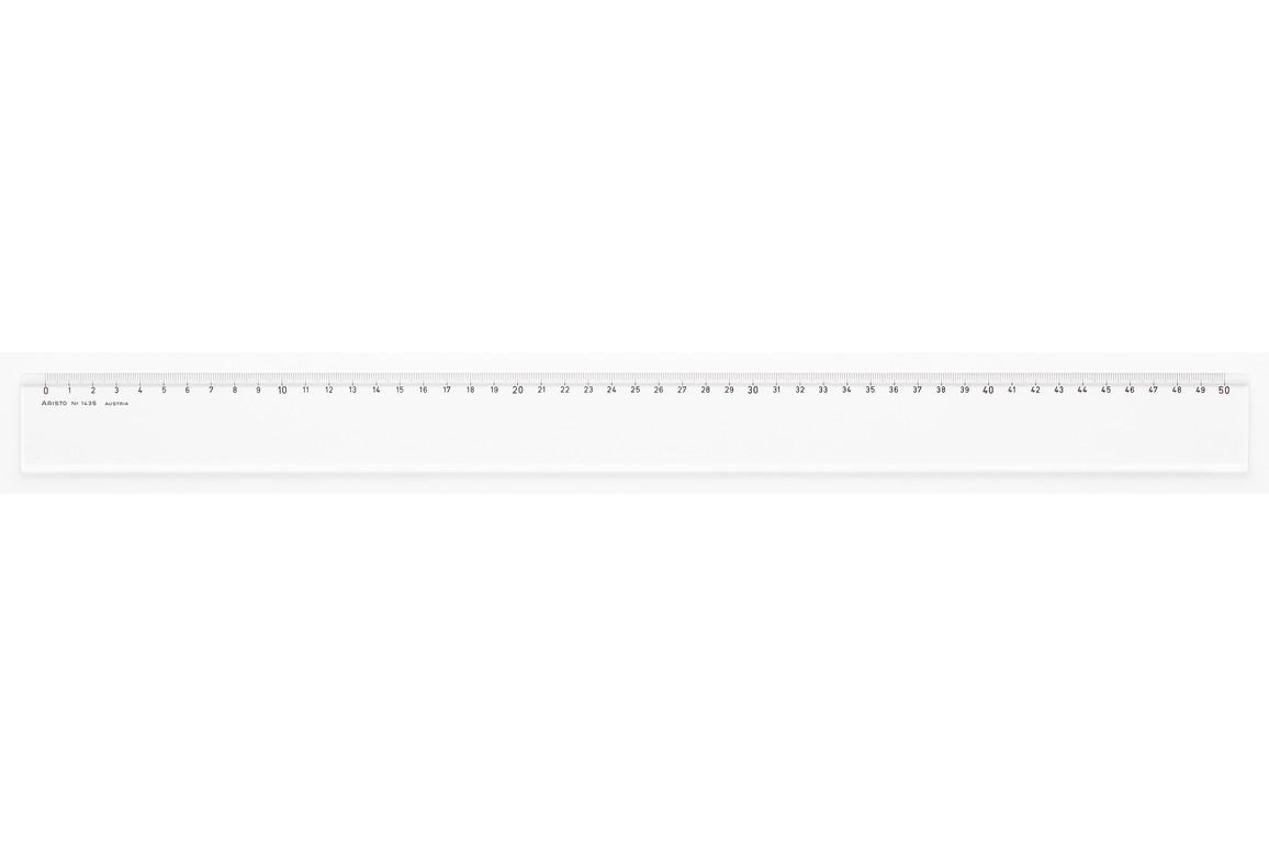 Lineal Aristo 50 cm Plexiglas, Art.-Nr. 1435 - Paterno Shop