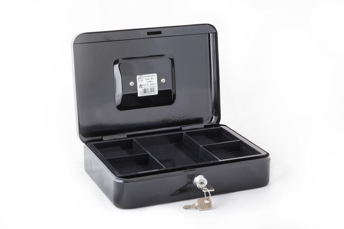 Geldkassette Alco 250x170x75mm dunkelgrün, Art.-Nr. 842A-DGN - Paterno Shop