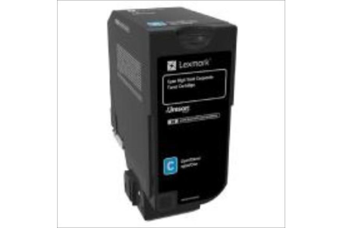 Lexmark PROJEKT Corporate Cartridge CX725 cyan HY 16K, Art.-Nr. 84C2HCE - Paterno Shop