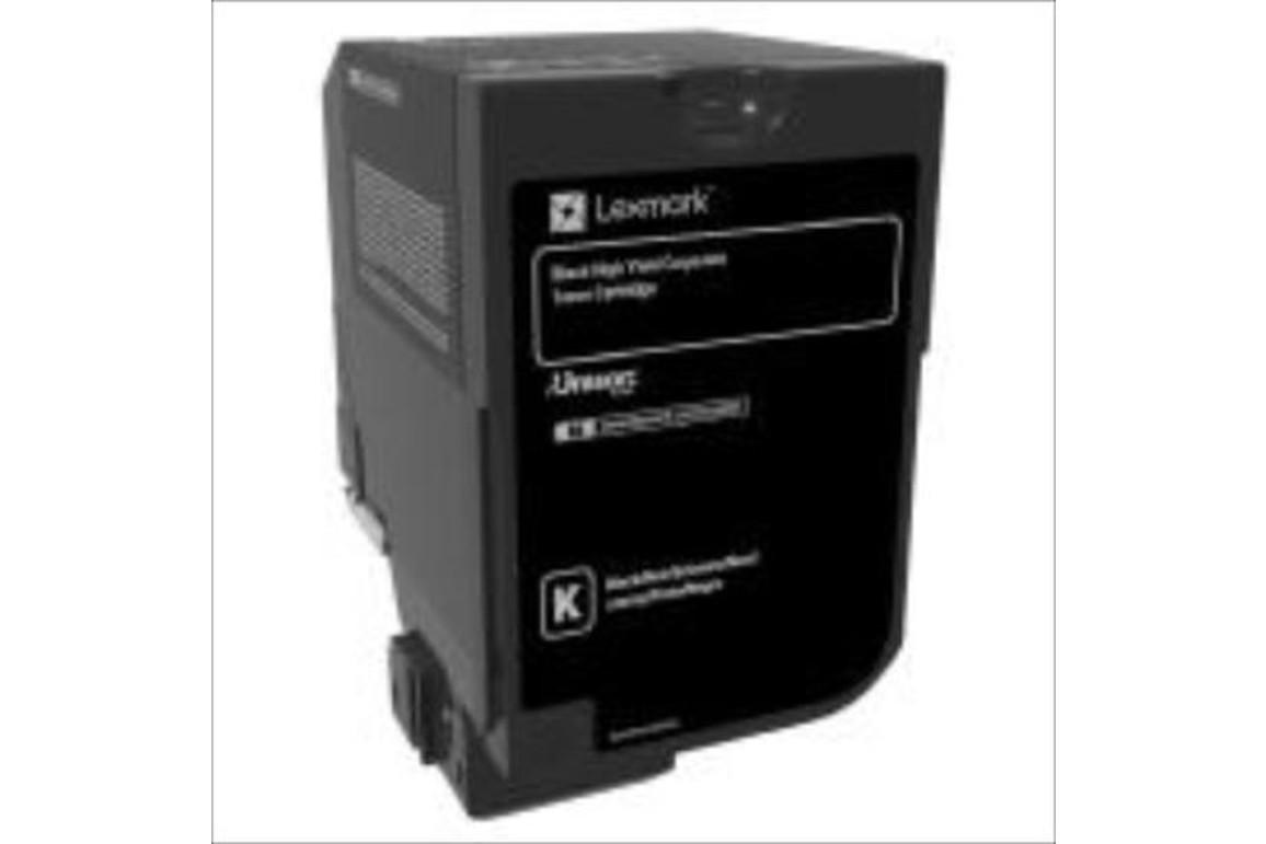 Lexmark PROJEKT Corporate Cartridge CX725 black HY 25K, Art.-Nr. 84C2HKE - Paterno Shop