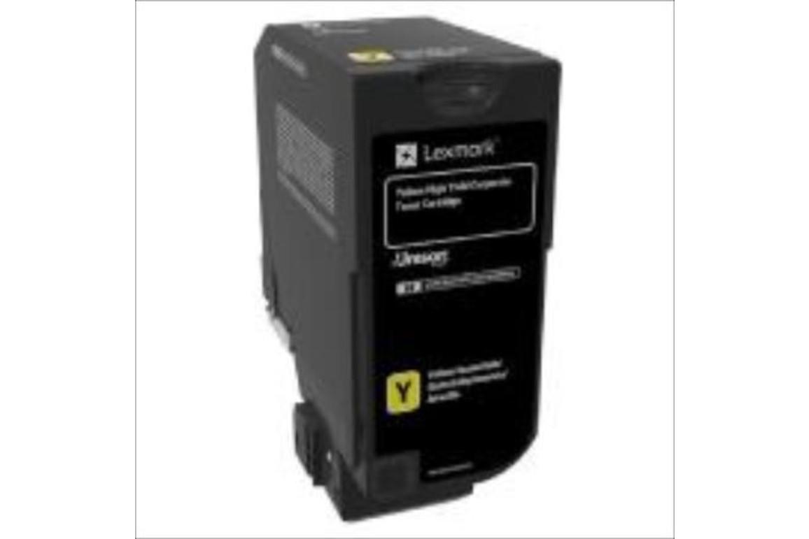 Lexmark PROJEKT Corporate Cartridge CX725 yell. HY 16K, Art.-Nr. 84C2HYE - Paterno Shop