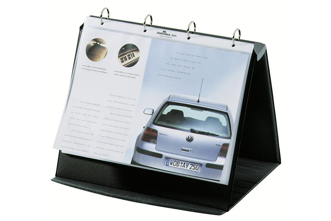 Tischflipchart Durastar A4 quer, Art.-Nr. 856739 BASALT - Paterno Shop