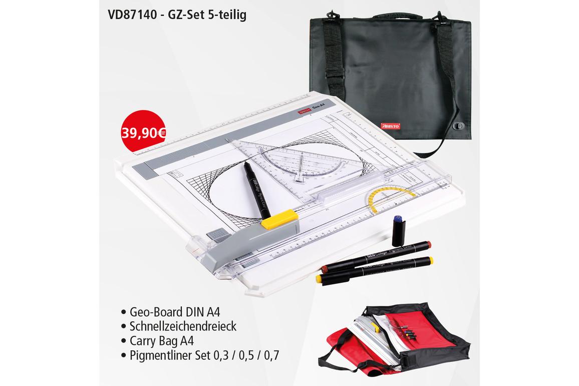 Zeichenplatte Aristo Geo Board Set  A4, Art.-Nr. 87140 - Paterno Shop