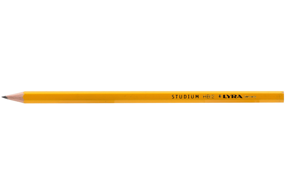 Bleistift Lyra Schule 916 2H, Art.-Nr. 916LYRA-2H - Paterno Shop