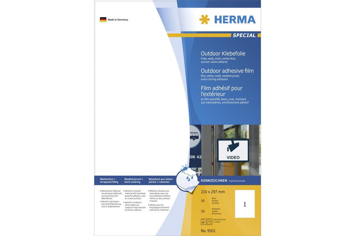 Etiketten Herma Outdoor A4, Art.-Nr. 9501HERMA - Paterno Shop