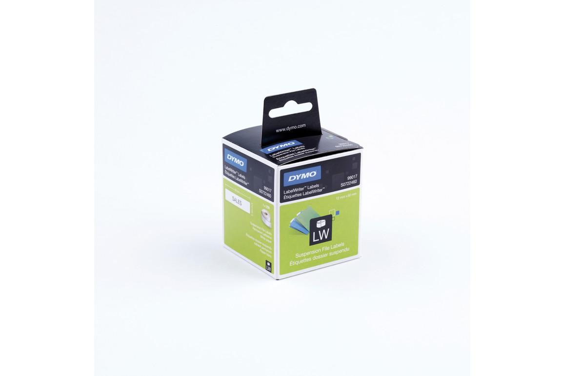Etiketten Dymo LW für Hängeablage weiss, Art.-Nr. 99017 - Paterno Shop