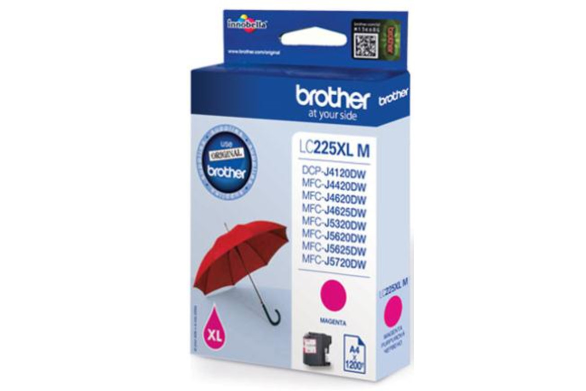Brother Ink mag. HY 1,2K, Art.-Nr. LC-225XL-M - Paterno Shop