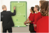 Whiteboard Linear ACCENTS Fußball 90 x 120 cm, Art.-Nr. LM103754 - Paterno Shop