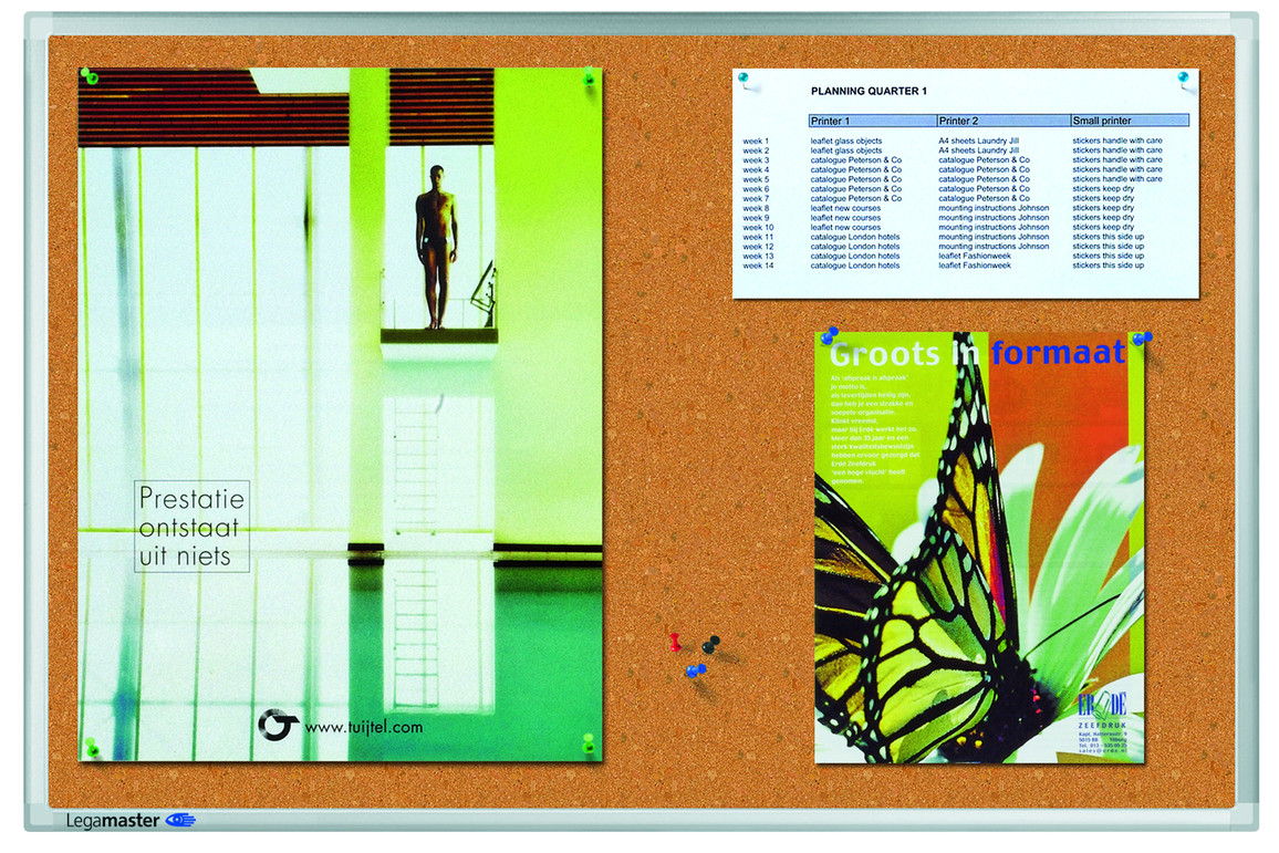 Pinboard LM Kork PREMIUM 60x90 cm, Art.-Nr. LM141043 - Paterno Shop