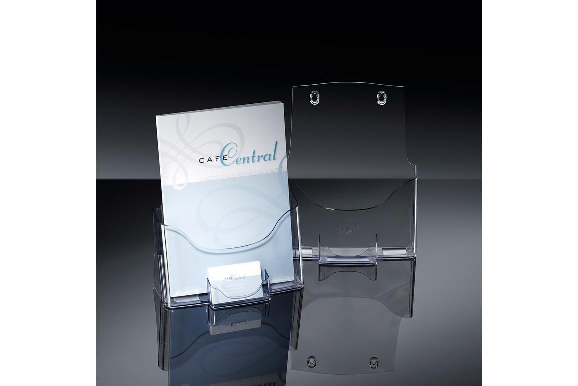 Tischprospekthalter Sigel A4 acrylic, Art.-Nr. LH111 - Paterno Shop