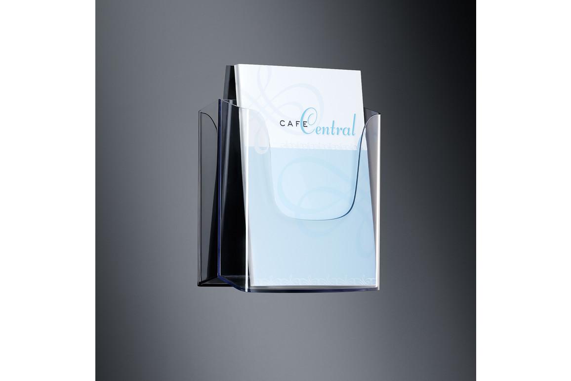 Wandprospekthalter Sigel A4 glasklar, Art.-Nr. LH115 - Paterno Shop