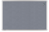 Pinboard LM Textil PREMIUM grau 45x60 cm, Art.-Nr. LM141935 - Paterno Shop
