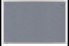Pinboard LM Textil UNIVERSAL grau 90x120 cm, Art.-Nr. LM141954 - Paterno Shop