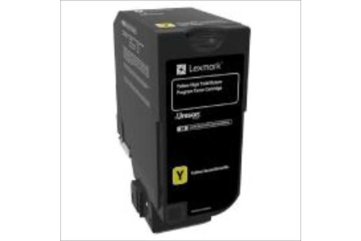 Lexmark Cartridge Return CX725 yell. HY 16K, Art.-Nr. 84C2HY0 - Paterno Shop