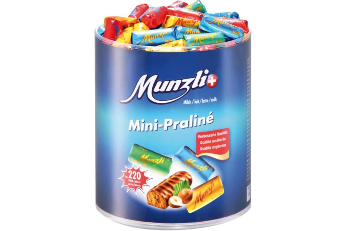 Munzli Mini-Praline mit Pralinefüllung, Art.-Nr. 01240 - Paterno Shop