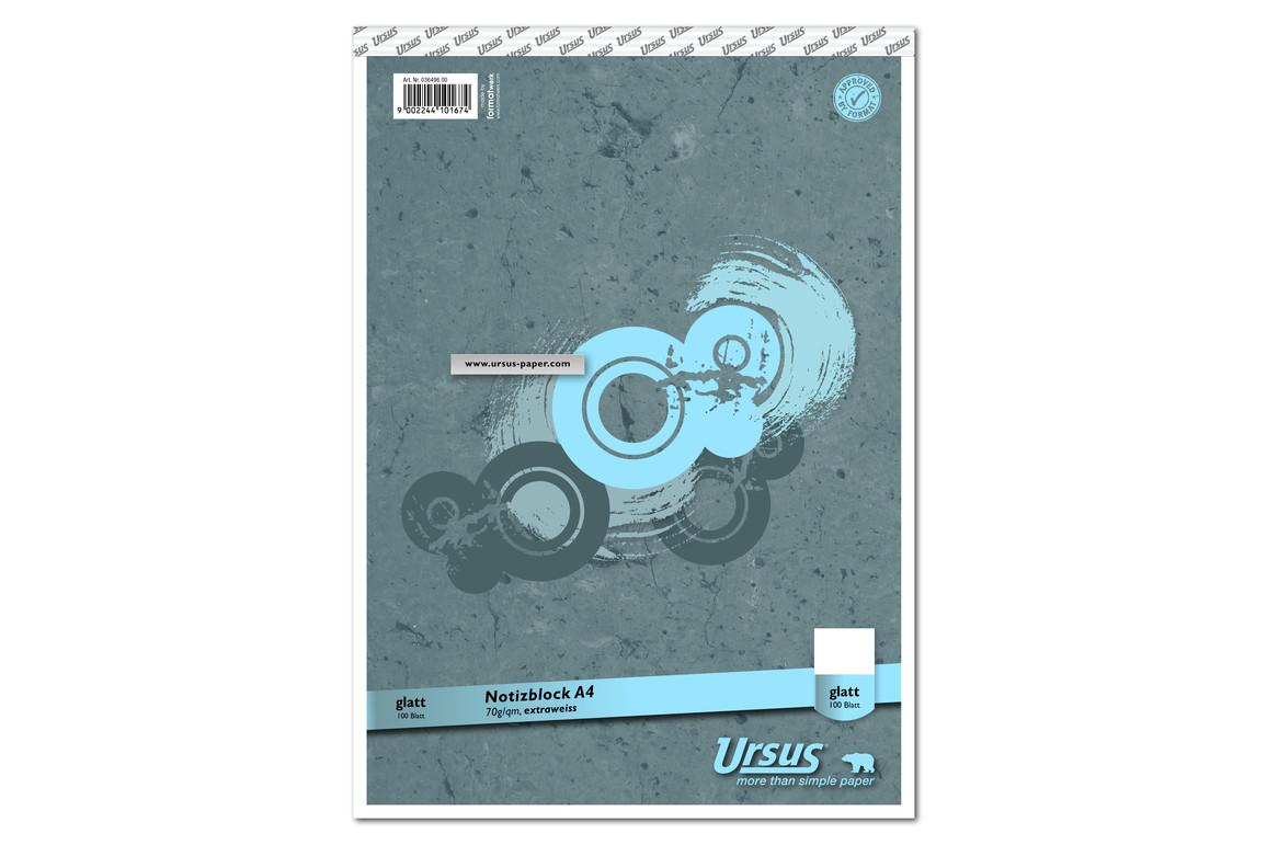 Notizblock Format X A4 96 Bl. kar., Art.-Nr. 036496-20 - Paterno Shop
