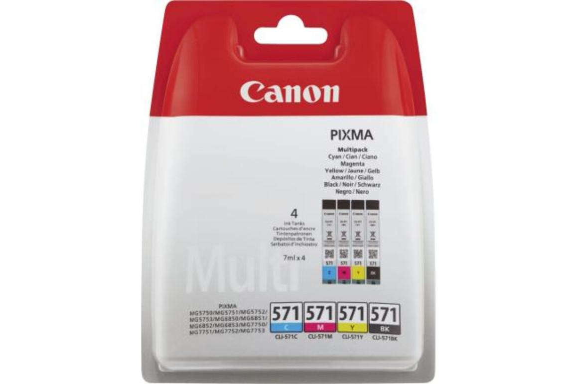 Canon Ink Multi Pack C/M/Y/BK je 7ml 1x4, Art.-Nr. 0386C005 - Paterno Shop