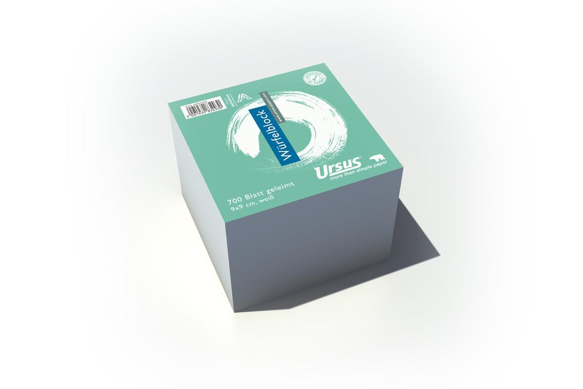 Würfelblock Ursus 9x9x9 cm, Art.-Nr. 039005 - Paterno Shop