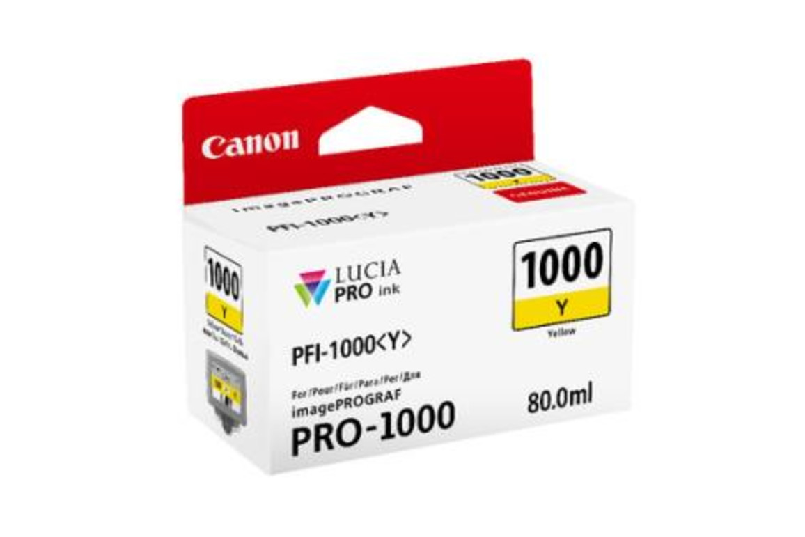 Canon Ink yell. 80ml, Art.-Nr. 0549C001 - Paterno Shop