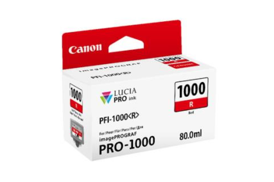 Canon Ink red 80ml, Art.-Nr. 0554C001 - Paterno Shop