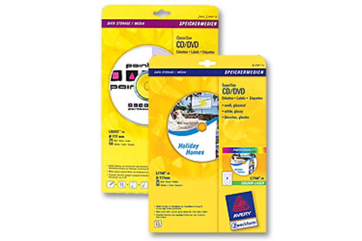 Etiketten-CD Ø 117 mm,, Art.-Nr. L6043-100 - Paterno Shop