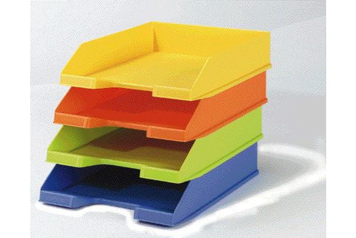 Briefkorb Exacompta Combo A4 grau transluzent, Art.-Nr. 0113-GRTR - Paterno Shop
