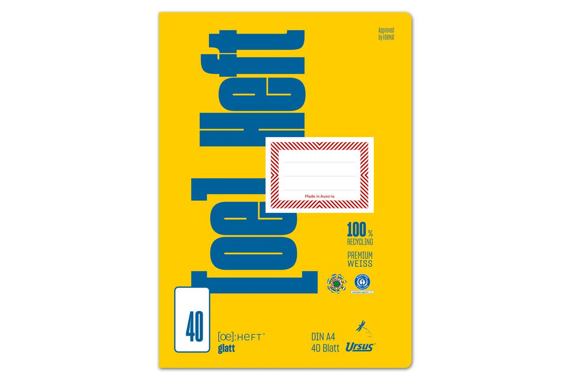 Heft Format FX 44 A4 40 Bl. kar., Art.-Nr. 070440-20 - Paterno Shop