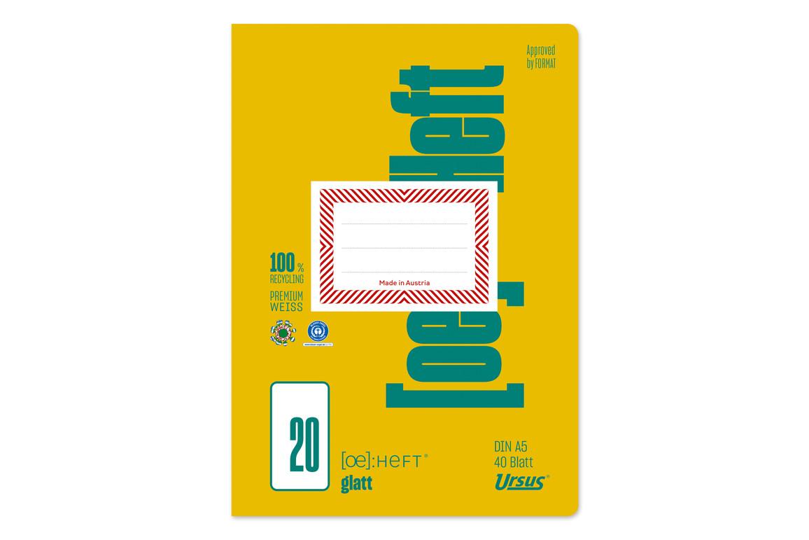 Heft Format FX 23 A5 40 Bl. lin. KR, Art.-Nr. 070540-13 - Paterno Shop