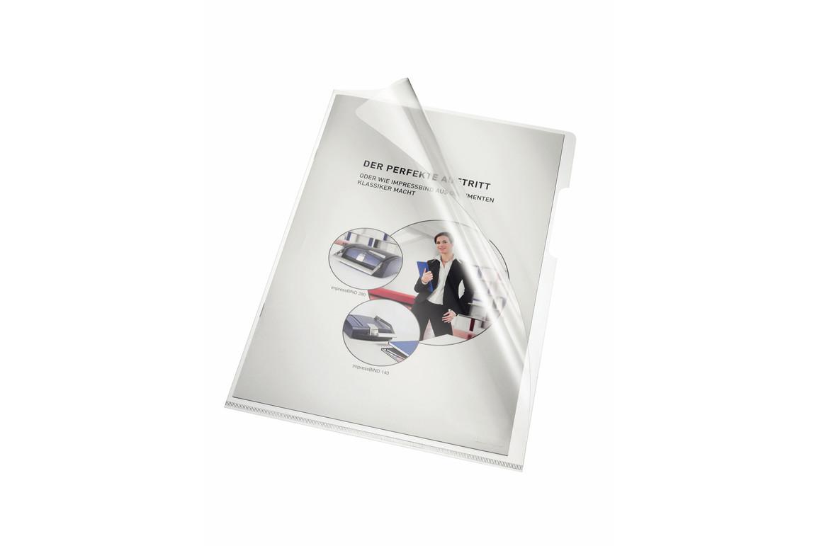 Aktenhüllen Bene A4 (220x310mm) 150 my glasklar, Art.-Nr. 205000-CL - Paterno Shop