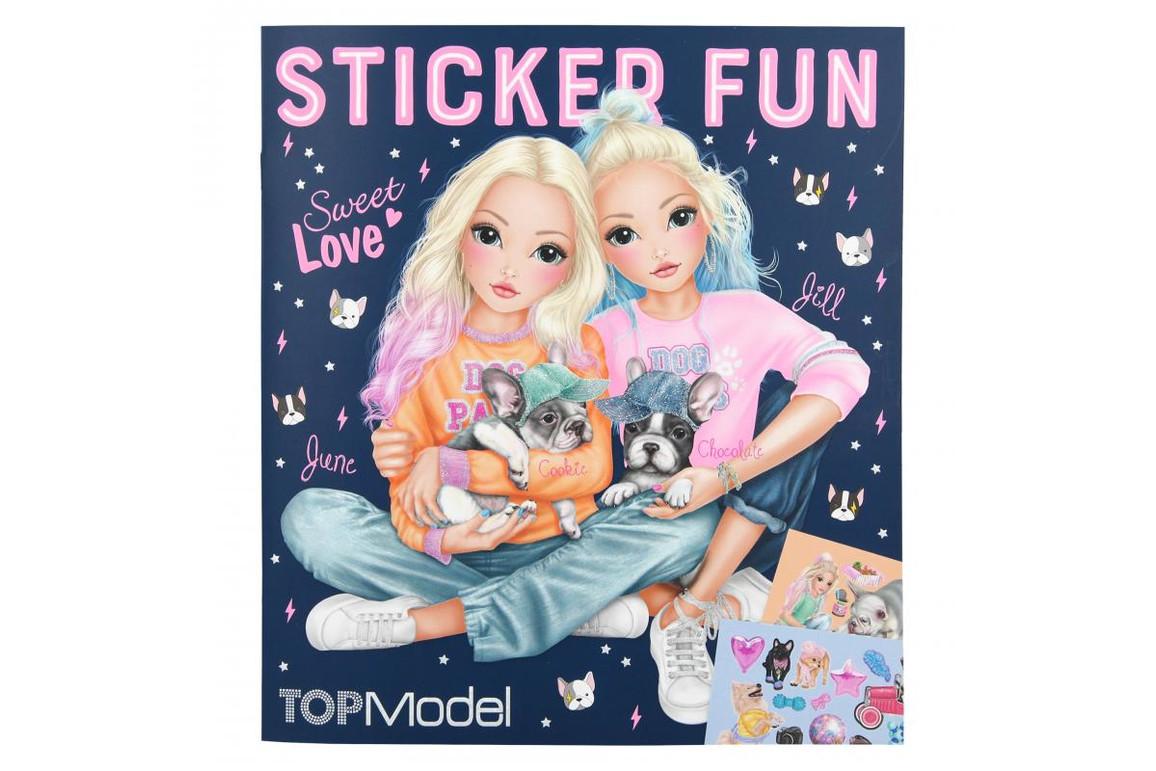Stickerbuch Dog TOP MODEL, Art.-Nr. 0010740 - Paterno Shop