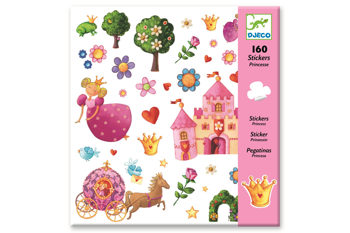 Sticker Prinzessin, Art.-Nr. 8830FÜ - Paterno Shop