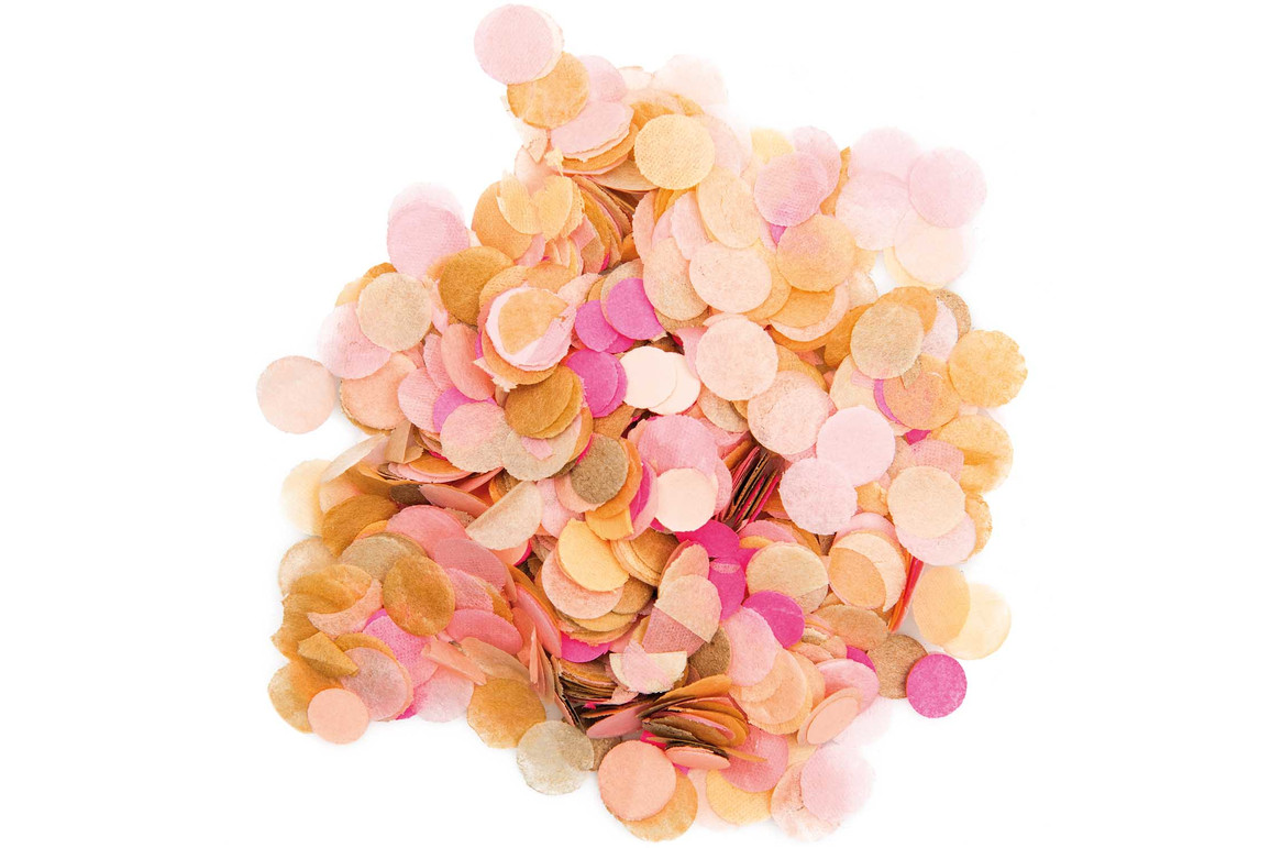 Konfetti rosa, 20 Gramm, Art.-Nr. 99001.68.82 - Paterno Shop